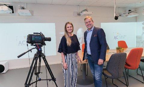 SOLID VEKST: Ida Søby og Amund Kristiansen i The Assessment Company opplever en enorm vekst. Nå ser det Hamar-baserte selskapet for seg en nordisk storsatsing.