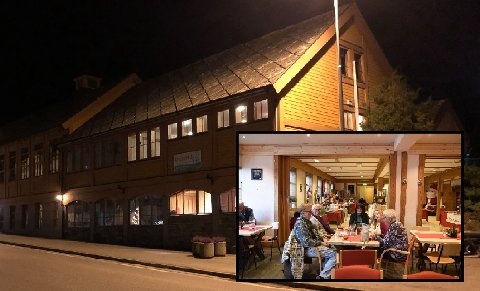 I år er jolemarknaden på Krossvoll avlyst. Foto: Eli Lund