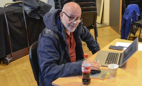 Debatterte på Facebook: Finn Hagen (Frp) har pådratt seg reaksjoner etter sin kommentar om Ap og Utøya på Facebool-gruppa «Kvardagsprat i Odda». Arkivfoto: Ernst Olsen