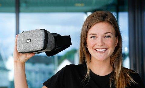NTNU student Ada Lea fra Haugesund har vært med og utviklet Moviemask.