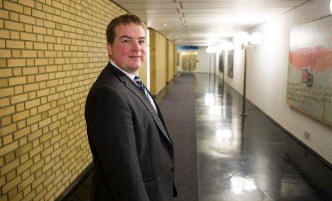 Sveinung Stensland på Stortinget.
