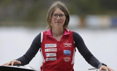 I VM: Elise Erland fra Tysvær Kano og Kajakklubb.