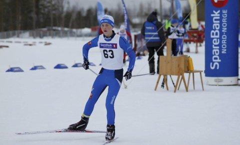 GIKK BRA: William Endresen var en flere løpere fra Mosjøen IL Ski som presterte godt i skiløypene i Alta under NNM. Foto: Pressefoto