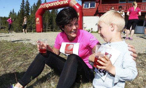 Hugospretten:  Berit Emma Forsmo etter fjorårets debut med Hugospretten. – Vi jobber for å få en trippel i 2018, sier hun.  FOTO: STINE SKIPNES Berit Emma Forsmo