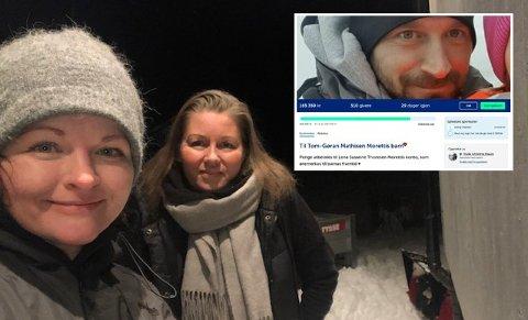 Trude Christina Hauan og Mariell Stifjell kan ikke gjøre så mye for å lette på sorgen – men ett tiltak kom de på.