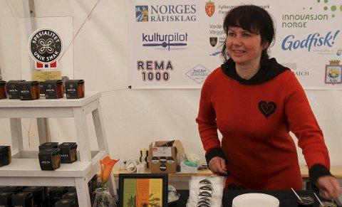 SATSER: Siss Heidi Hansen i Tufjord på Rolvsøya har store planer for bedriften sin, Molta.