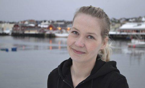 SNART OPPE I 4000: Monica Esbensen (33) fra Vardø viste seg å være et godt valg av gjest til podkasten Podtrettet.