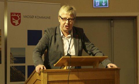 Flertallet med?: Wenche Pedersen (Ap) lurer på om ordføreren hadde flertallet i kommunestyret med seg da han tok til orde for fylkessammenslåing.