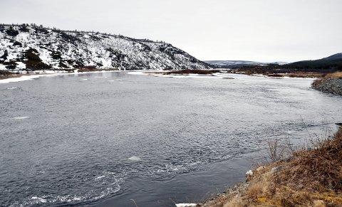 START 1. JUNI:  Fisket i Karasjohka kan starte 1. juni for lokalbefolkningen etter krav fra TF overfor departementet Foto: Oddgeir Isaksen