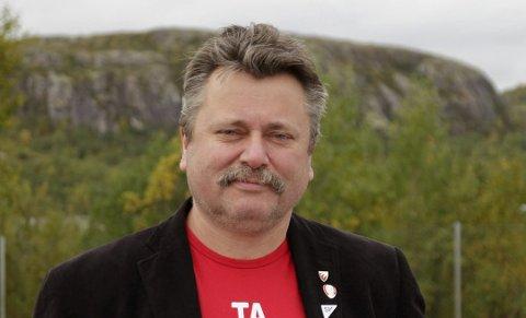 IMOT FRITAKET: Gruppeleder for SV i Sør-Varanger, Pål K. Gabrielsen, reagerer på at formannskapet har vedtatt å ettergi eiendomsskatt for selskapet Sydvaranger AS, som har kjøpt opp Sydvaranger gruve.