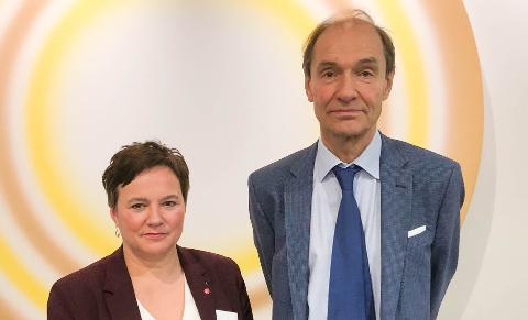 STERK KRITIKK: Både fylkesordfører Ragnhild Vassvik og jusprofessor kom med sterk kritikk i stortingshøringen tirsdag.