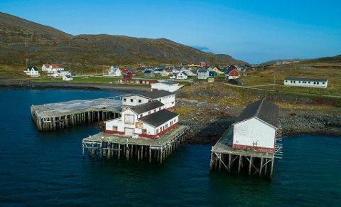 NYTT ANLEGG: Havbør AS skal etablere et anlegg for levendelagring av fisk i Kongsfjord utenfor Berlevåg.