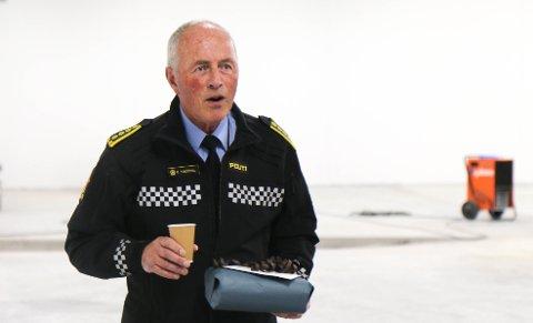 TAKKET AV: Oddvar Tengesdal ble hedret av sine kolleger onsdag.