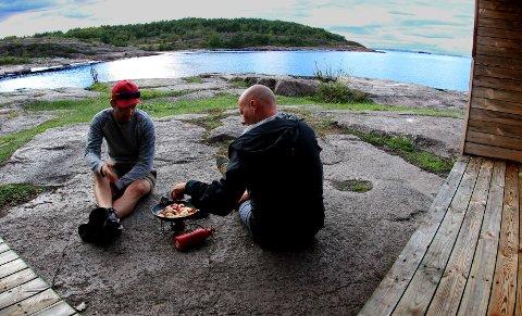 Fantastiske opplevelser venter: Prosjektlederne for Padleled Vestfold og Telemark: Kristian Ingdal (til venstre) og Bård Andresen. Foto: Frank Tindvik