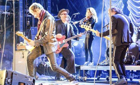 KOMMER: CC Cowboys kommer til Skåtøyfestivalen. Det populære bandet avslutter festivalen lørdag 15. juli.ARKIVFOTO: NILS JUL LANDE