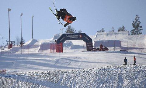 STJERNESKUDD: Tevje A. Skaug i aksjon i Snowstock sist vinter. Nå skal kongsberggutten i aksjon i verdenscupen.