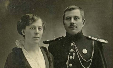 EKTEPAR: Alida og Lars Rustbøle budde i Rollag som nygifte.