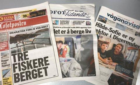 Avisene i Lofoten øker opplagene sine på siste måling, som torsdag ble offentliggjort av MBL.