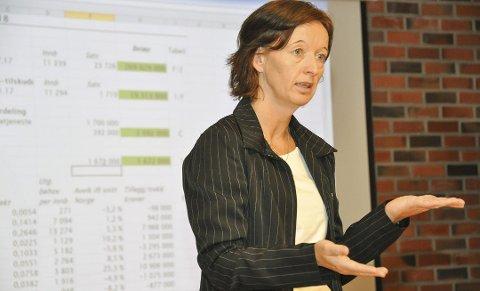 VESTVÅGØY: Statsbudsjettet for 2021 gir ingen realvekst for Vestvågøy kommune, ifølge økonomisjef Line Andreassen.