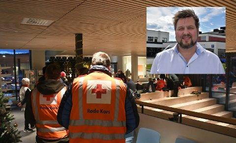 Smittevernlege i Fauske, Gregory Hautois, forteller at opp mot 40 personer skal testes etter leteaksjonen i Valnesfjord på mandag.