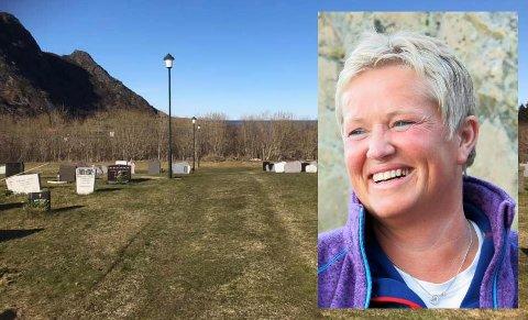 Anne Jorid Gjertsen er takknemlig for å bidra som både ambulansearbeider og kirkegårdgraver.