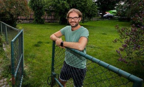 MANGE PLANER: Festivalsjef Martin M. Sørhaug jobber både mot festival i Nesparken i august og Lyse Netter på Alby neste år.