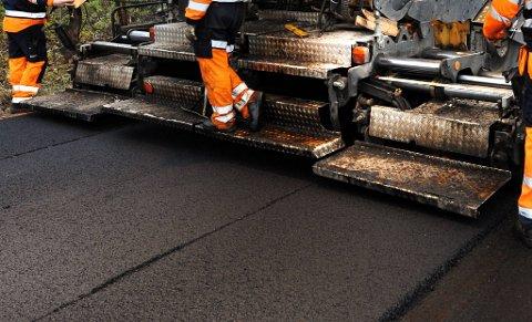 NY VEG: I løpet av våren og sommeren 2021 skal det legges asfalt på sju kommunale veger i Namsos.