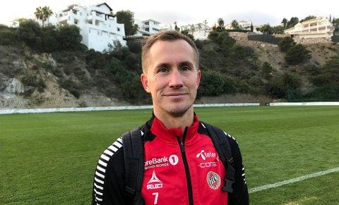 CASHET INN:  Morten Gamst Pedersen har solgt sin attraktive leilighet i Trondheim til salgssummen 16,6 millioner kroner.