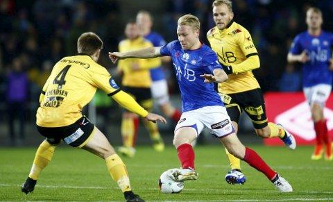 GODT INNHOPP: Henrik Kjelsrud Johansen fikk ingen store målsjanser, men bidro med assist da Vålerenga utliknet mot Lillestrøm.Foto: Foto: Håkon Mosvold Larsen, NTB scanpix
