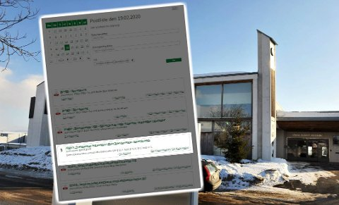 OFFENTLIGGJORDE PERSONOPPLYSNINGER: Østre Toten kommune har meldt inn et avvik etter at de i midten av februar offentliggjorde navnet på en person som var dømt til tvangssalg av eiendom. Feilen er rettet i ettertid.