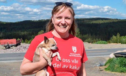 UTSATT: Beiteslipp hos oss er utsatt fra 1. juni og fram til helga, sier Inger Lise Sveum-Aasbekken.