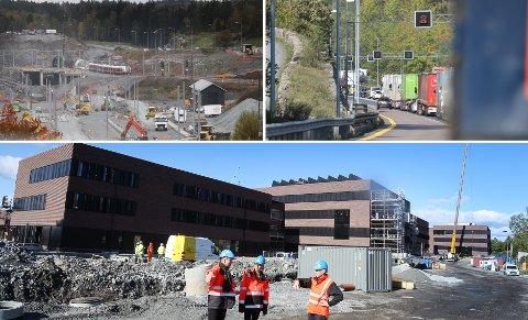 Follobanen, Nordbytunnelen og NMBU-utbyggingen er blant prosjektene som får penger i statsbudsjettet.
