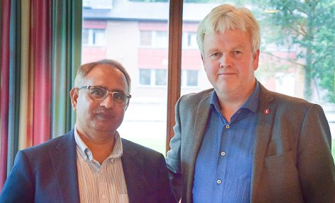 FrP: Nordre Follo politikerne  Zafar Iqbal og Tønnes Steenersen vil at det innføres et integreringsbarometer i Nordre Follo som viser kostnadene.