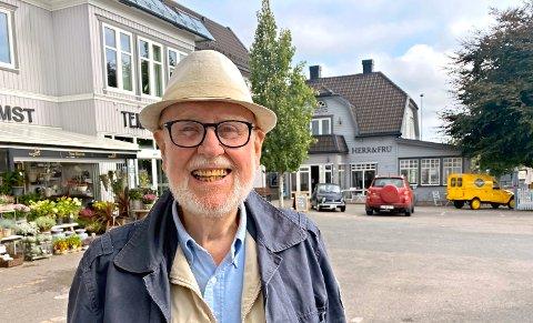 Hans Anton Fagerlie (78) er en av få som har valgt å ikke la seg vaksinere.