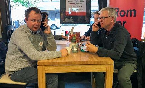 AVGJORT: Robin Kåss, Hallgeir Kjeldal og resten av ordførerkollegiet i representantskapet vedtok ViG-nedleggelsen fredag.