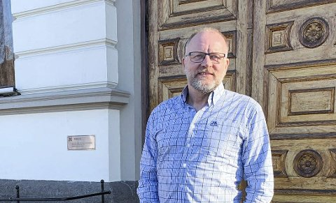 KOMMUNALSJEF: Tollef Stensrud jobber med Kjølnesplan.