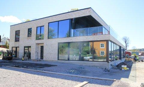 FUNKIS: Det gamle industribygget har fått en komplett ny «look» takket være eiendomsutvikler Kai Evensen (50).