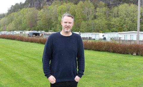 INITIATIV: Lønnberg ønsker kommunens hjelp til regulering.