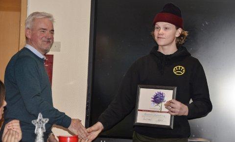 SATSER: Kristian Skjømming, Normal SK, tok før jul sin første norgescupseier i snowboard denne sesongen. Målsettingen er mye høyere.