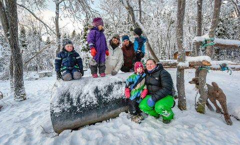 Bildet ble tatt i desember 2018, i forbindelse med at Frikult ønsker å bygge ny frikultbarnehage i Tømmerhåjen på Ytteren.