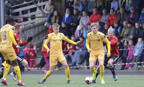 I mai i 2019 var Bodø/Glimt og Jens Petter Hauge cupmotstander for Åga IL på Hauknes stadion. Nå blir det ikke A-lagsfotball i klubben i overskuelig framtid.