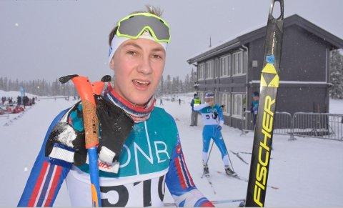God i fristil: Jørgen Harby fra Brøttum ble nummer 13 i NM.