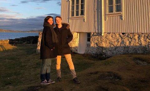 UNIK: - At han nå er borte er et stort tap for meg, sier Virág Györff om samboeren Per Andreas.