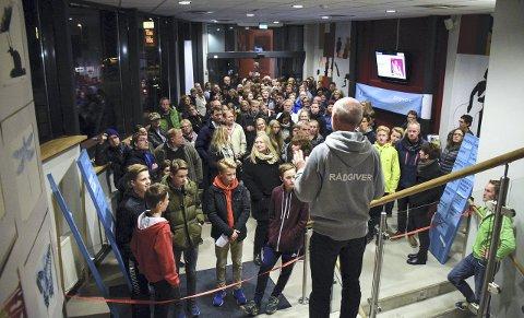 Velkommen: Rådgiver ved Hønefoss videregående skole, Ole Føli, ønsket på vegne av skolene, alle elevene velkommen.