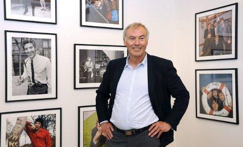 Egil Eide, direktør ved Kistefosmuseet, kan smile bredt i dag.