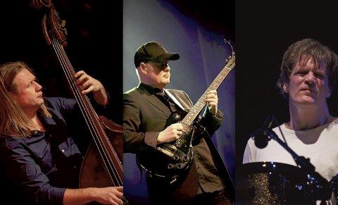 Jazz i verdensklassen: Supertrio Deluxe med Per Mathisen, Ulf Wakenius og Gary Husband, i Bassgarasjen 24. september.