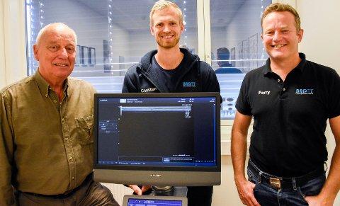 GODE RESULTATER: Henrik Moen, Christian Fredriksen og Ferry Wagenvoort har fått gode resultater med såkalt PRP-behandling.