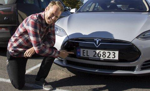 ANDELEN ØKER: Antall elbiler på romeriksveiene har økt med 58,05 prosent siden 2015. ALLE FOTO: ALEKSANDER HØMANBERG