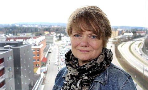 HÅPER PÅ LØSNING: Lørenskog-ordfører Ragnhild Bergheim.