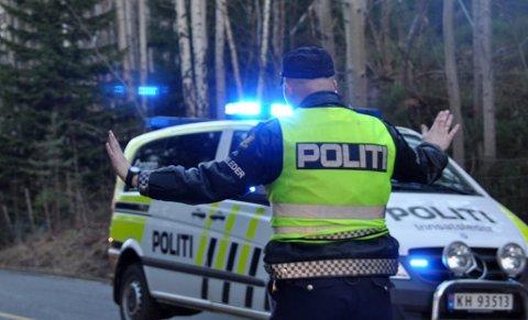STORKONTROLL: I dag holder politi, tollvesen og Statens vegvesen kontroll på tidligere riksvei 23, nå E 134. Illustrasjon